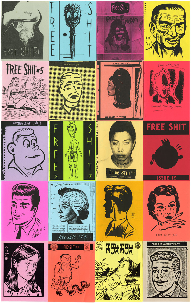Free Shit #1-#23, por Charles Burns