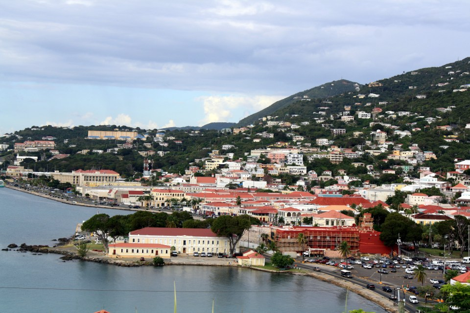 Charlotte Amalie on St Thomas