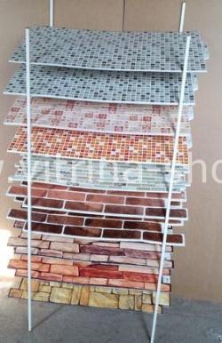Стойка для мозаики с образцами