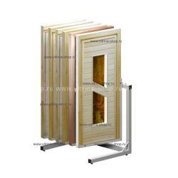 Экспозитор для банных дверей на 6 мест усиленный