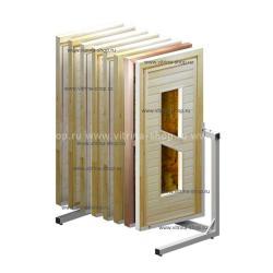 Экспозитор для банных дверей на 8 мест усиленный