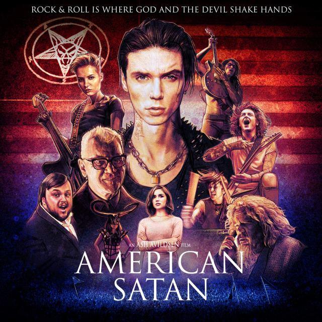 american satan película vitrina rock