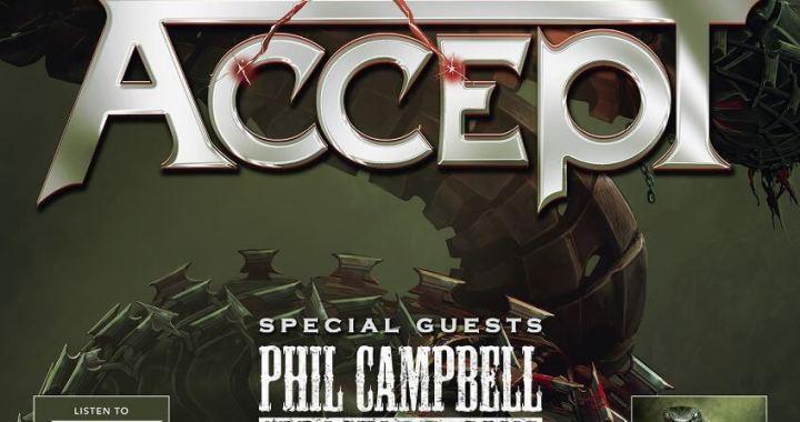 ACCEPT anuncia gira europea y pone en venta su nuevo vinilo
