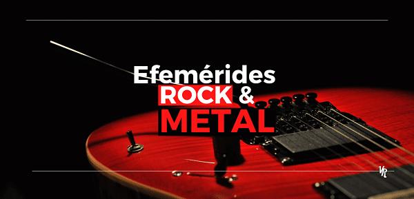 Efemérides Música: Lo que pasó un 19 de abril en el Rock y Metal