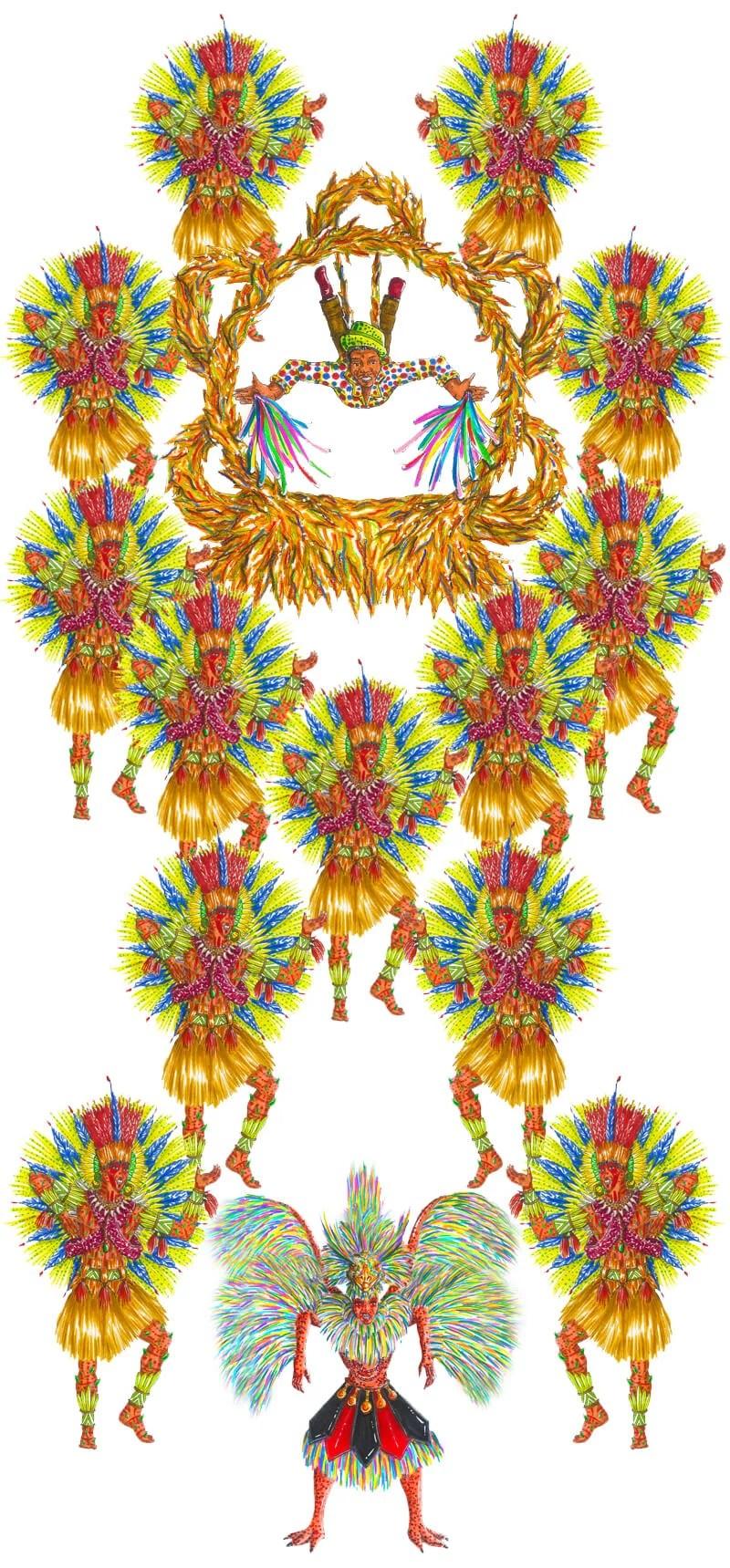 LIESV EM EVIDÊNCIA – Carnaval da Imperatriz Ludoviscence de 2019 ganha destaque em revista da UFRJ