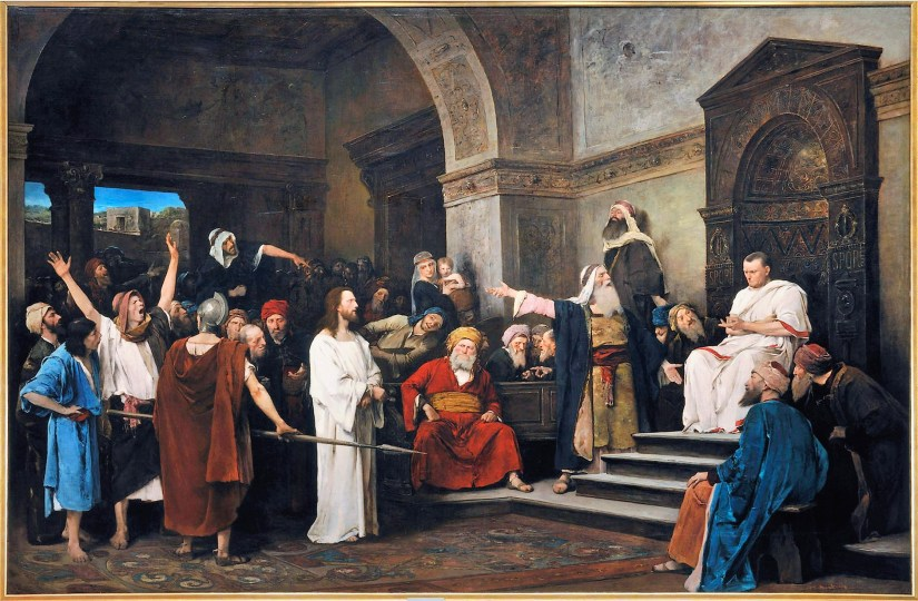Munkacsy_-_Christ_in_front_of_Pilate
