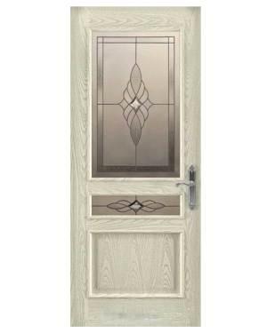 ξύλινη πόρτα εισόδου