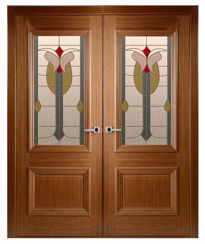 διφυλλη πορτα εσωτερικη