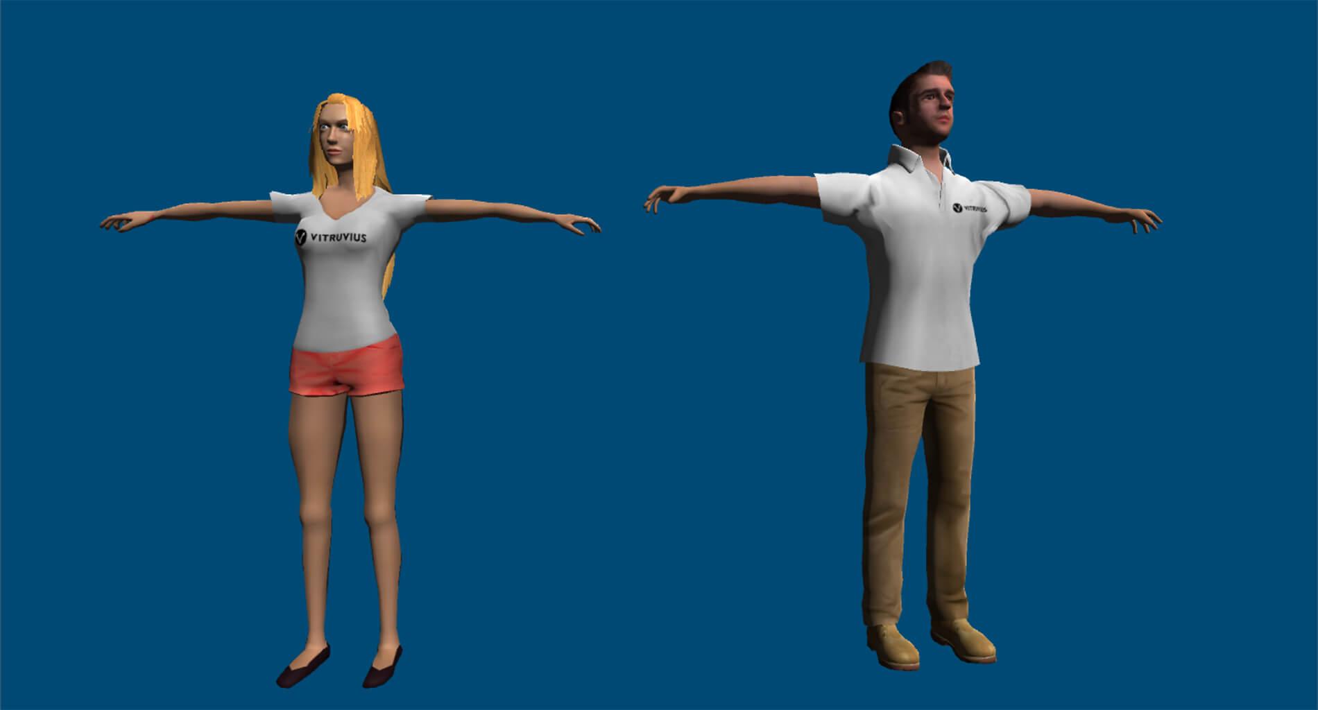 Avateering (Kinect + Unity) | Vitruvius