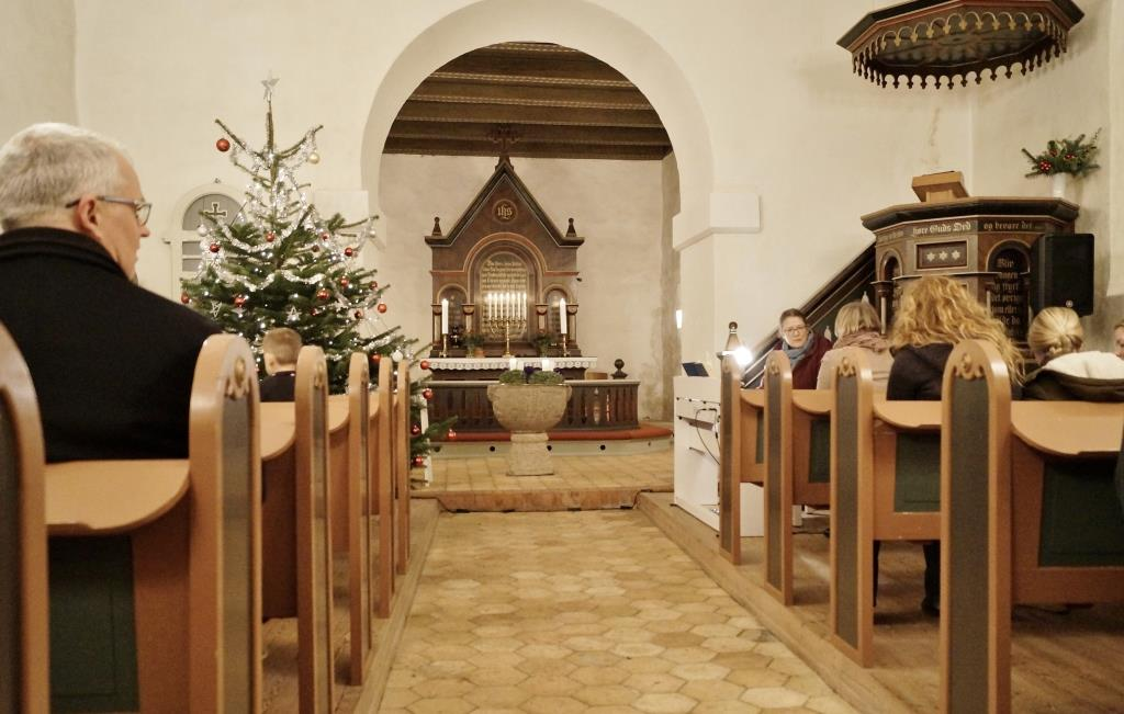 Lucia optog i Vitten kirke