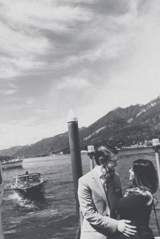 Lake Como engagement photographer