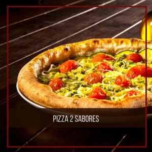 Pizza dois sabores