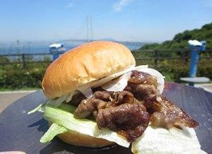 Awaji beef hamburger