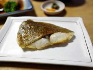 Grilled fish in Japan