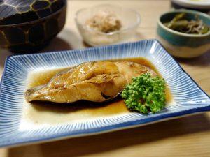 Japanese boiled fish