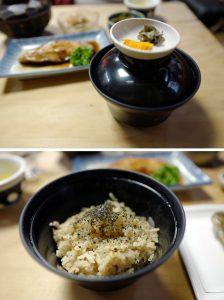 Kayakugohan(rice mixed with various vegetables)