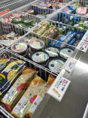 Convenience store in Japan Ice cream