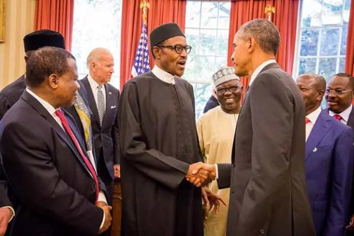 Buhari Obama meeting 5