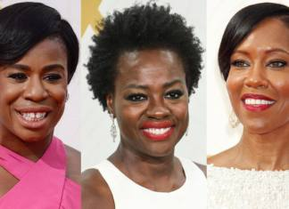 Viola Davis Regina King Uzo Aduba - Emmy Awards 2015