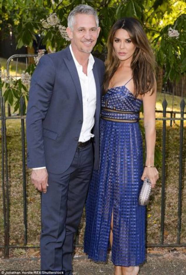©Daily Mail|Gary Lineker and Danielle Bux Divorce