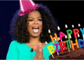 Happy birthday Oprah Winfrey