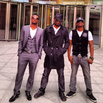 P-Square and Brother Jude Okoye -1