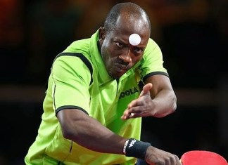 Segun Toriola - table tennis Olympics