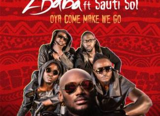 2FACE FT SAUTI SOL - Oya Come Make We Go Album Art