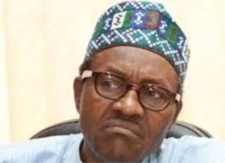 buhari making disgusted face