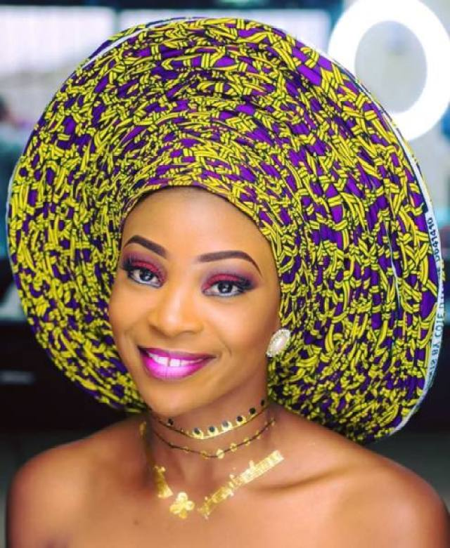 6 yards ankara gele 6