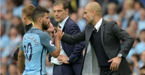 guardiola-aguero-football