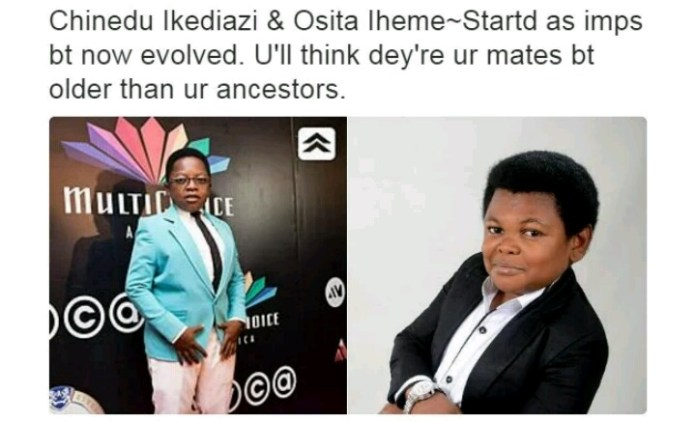 Nollywood Actors and their characteristics - Aki and PawPaw