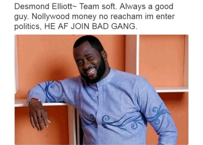 Nollywood Actors and their characteristics - Desmond Elliott
