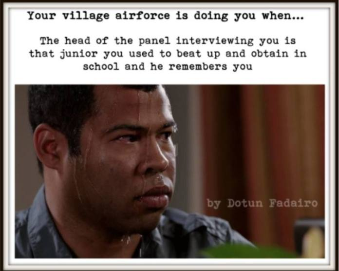 village-again (5 signs that your village airforce is doing you)
