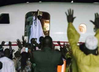 Yahya Jammeh Leaves Gambia