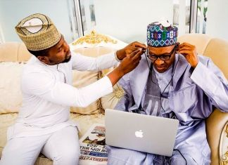 buhari-earpiece