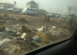 Ibadan dirty - iwo road