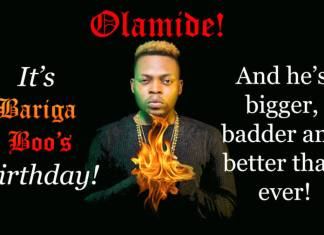 Olamide - happy birthday