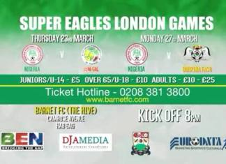 Super Eagles - International Friendlies - London - March 2017