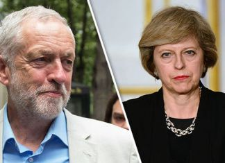 Jeremy-Corbyn-Theresa-May-Daily-Express
