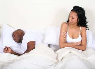 dissatisfied wife - sexual dysfunction - black couple
