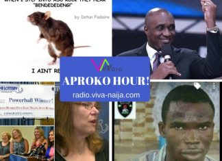 Rats in power, 35 + unmarried = irresponsible, $758m lottery winner, child molester - 25-08-2017 - APROKO HOUR