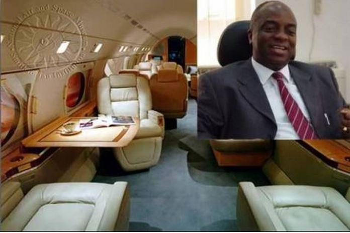 Oyedepo Private jet