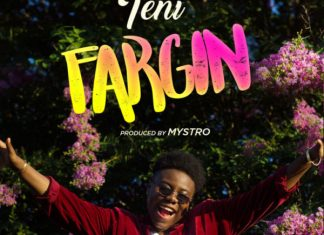 Teni - FARGIN Album Art