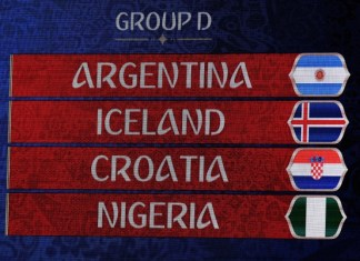 Russia 2018 world cup draws
