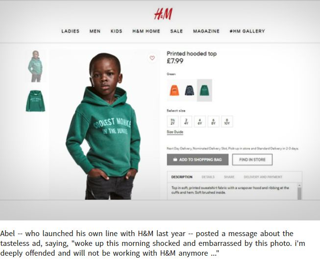 The Weeknd severs ties with H&M