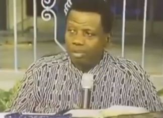 Pastor Adeboye - tithing