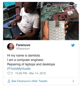 Why #ThisIsMyHustle is trending on Twitter