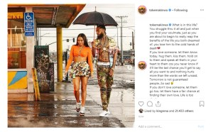 Nigerians condemn Toke Makinwa for paying tribute to Hussle