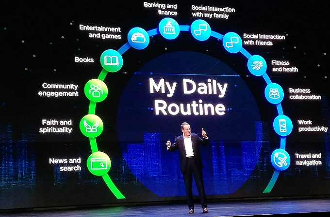 Pat Gelsinger - VMware - Daily Routine